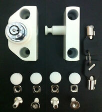 Retractable / Collapsible / Sliding Gate Lock