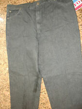 NWT MEN SFO SAN FRANCISCO OVERALL BLACK JEANS  W44 L38 MADE IN AMERICA