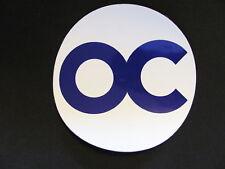 Orange County Round Oc Bike Board Helmet W&P Sticker