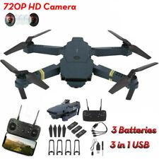 Eachine E58 RC Drone 720P HD Wide Angle Camera FPV Wifi Quadcopter 3 Batteries