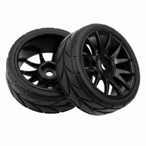 RC HSP 82829 Black Wheel Complete (82827+82828) 2P For HSP 1:16 On-Road Car