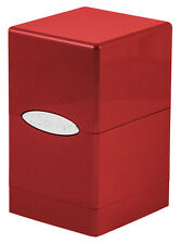 Ultra Pro Satin Tower Deck Box -  Red New