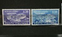 """FRANCOBOLLI ITALIA REPUBBLICA 1951 """"MONTECASSINO"""" NUOVI MNH** SET (CAT.SC)"""