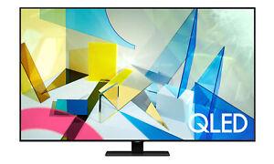 """Samsung QN85Q80T 85"""" 4K QLED Smart TV - Titan Black"""