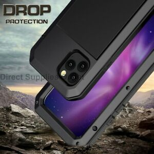 For iPhone 12 Pro Max Mini Shockproof Metal Gorilla Case Cover Heavy Duty Metal
