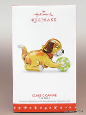 NEW 2016 Classic Canine Tin Toys #3 HALLMARK KEEPSAKE ORNAMENT