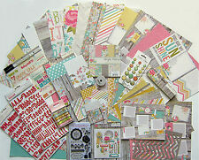SIMPLE STORIES  [Vintage Bliss] 12x12 Paper & Embellishments [Set b]    Save 65%