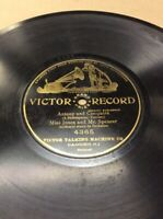 "1904 Victor Record 10"" Anthony Cleopatra #4365  78rpm FREE SHIPPING B50S16"