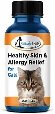 Healthy Skin and Allergy Relief for Cats All-Natural Supplement for Relief