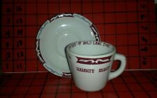 Mammys Shanty Old South Atlanta Georgia Restaurant CUP & SAUCER Sterling China