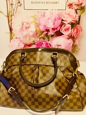 Authentic Louis Vuitton  Trevi GM Large Ladies Women's Damier Handbag Bag