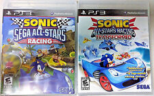 Sonic & Sega All-Stars Racing & Sonic & ASR Transformed (PlayStation 3, 2010-12)
