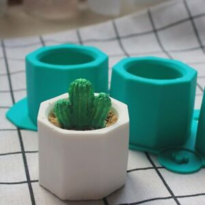 Cement Flower Pot Silicone Mold Ceramic Clay Casting Concrete Cup Moulds Sell