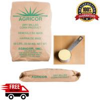 50 lb. Bulk Coarse Yellow Cornmeal Bag Large Pantry Food Supply Baking Corn Meal