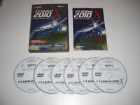 FS GLOBAL 2010 X Pc DVD Rom Add-On Flight Simulator Sim 2004 & X FS2004 & FSX