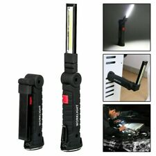 COB-LED Stab Leuchte KFZ Arbeit Werkstatt Taschen Lampe Akku Magnet DE
