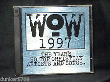 WOW 1997 THE YEAR'S 30 TOP CHRISTIAN ARTISTS AND SONGS 2 CD SET
