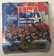 1996-97 Fleer Skybox USA Olympic Factory Sealed Basketball Hobby Box 24 Pack HTF
