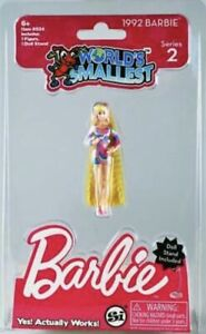 1992 World's Smallest Barbie Doll SERIES 2 Totally Hair miniature doll