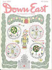 DOWN EAST MAGAZINE~JUNE 1959