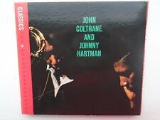 John Coltrane and Johnny Hartman Impulse! Classics remaster CD 2005 digi-pak