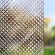 Rabbitgoo 3D Forest window film cling sun blocking pricacy geometry 17.7x78.7In.