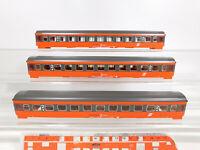 CO616-0,5# 3x Märklin H0 Gehäuse/Aufbau mit Inneneinrichtung für 4173 ÖBB, NEUW