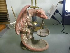 Dragon Tea Light Incense Burner Figurine