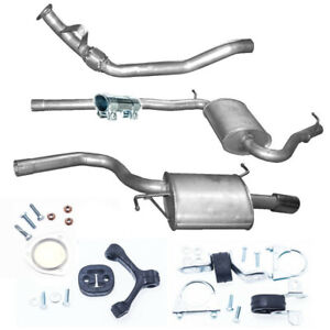 Anbausatz Nachschalldämpfer Auspuff Mercedes W202 C 2.0//2.2 Limousine 136//150PS