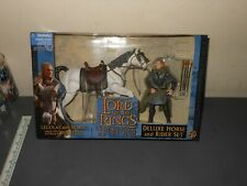 "LORD OF THE RINGS - DELUXE HORSE AND RIDER SET *LEGOLAS WITH HORSE*  ""NEW"" RARE!"