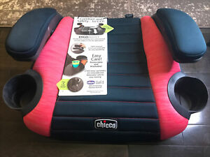 NEW Chicco GoFit Plus Belt-Positioning Backless Booster Car Seat COMFORT SAFETY