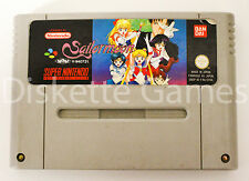 SAILOR MOON - SUPER NINTENDO SNES - PAL FRA SAILORMOON