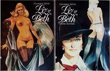 LIZ & BETH Lévis vol. primo e secondo NERBINI 1991 in italiano EROTICO