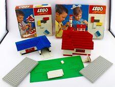 LEGO SYSTEM Konvolut Sammlung um 1965 Model 030 & 020 inkl. anderer Steine