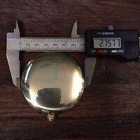 "***NEW*** 2.75"" Metal Pendulum Bob Estate Lot 202"