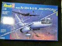 "Arado Ar 234, B-2 / N, ""Nachtigall"", Nachtjäger, Revell, Scale:1/48, Kit: 04545"