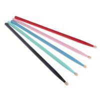 Durable 1Pair 5A 7A Drumsticks Color Hard Maple Drum Sticks Jazz Drums Stick Kid