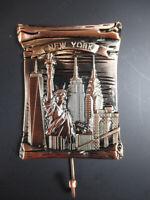 New York Metal Imán Con Gancho Estatua de la Libertad Torre 8CM Souvenir