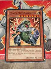Carte YU GI OH TYRANNO SUPER-CONDUCTEUR BP01-FR013