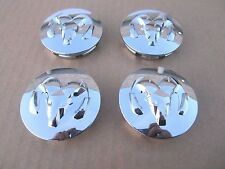 "4 pcs. DODGE Ram 1500 2500 Dakota Durango Wheel Center Hub Cap 2 1/2"" CHROME NEW"