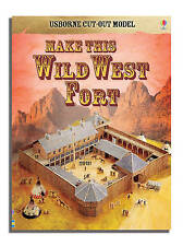 Cut-out Wild West (Usborne Cut-out Models), 0746093454, New Book