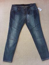 Women's Twentyone Black Jeans Denim Super Skiny by rue21 Junior Sz 13/14M NWT