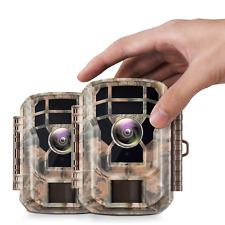 2 Pack Stealth Cam 16MP Game Trail Deer Camera Campark Wildlife Hunting Game Cam