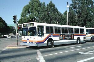 Orange County Transportation New Flyer bus Kodachrome original Kodak Slide