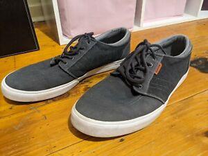 Men's Canvas Skate Shoe Kustom Remark 2 Charcoal US 10