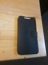 Samsung Galaxy Note 2 II N7100 N7105 black Book Diary Flip Case Cover NFC