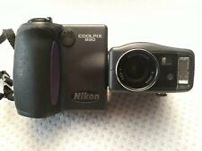 Nikon COOLPIX 990 3.34MP Digital Camera - Black Used Untested