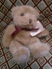"RUSS BEARS FROM THE PAST CHADSWORTH TEDDY BEAR PLUSH STUFFED ANIMAL 8"" w. TAG"