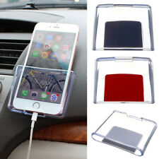 Car Accessories Transparent Holder Case Organizer Cellphone Storage Bag Box