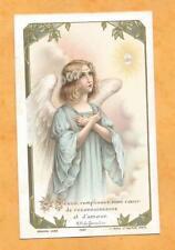 IMAGE PIEUSE   HOLY CARD BOUASSE GUERET ANGE AMOUR 1910